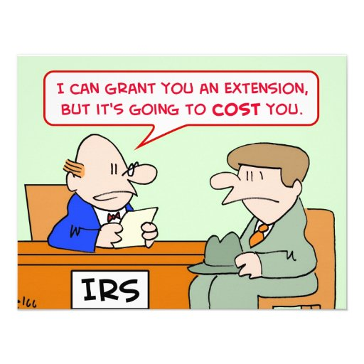 irs extension cost you taxes invites