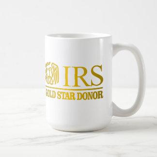 IRS Gold Star Donor Coffee Mug