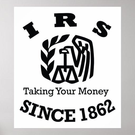 IRS - Internal Revenue Service Poster