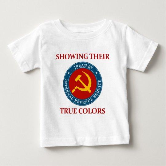 IRS: Mostrar sus colores verdaderos Playera De Bebé