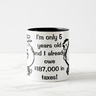IRS Two-Tone COFFEE MUG