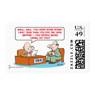 irs never learn postage