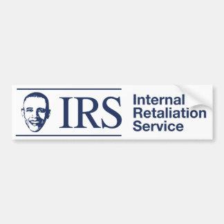 IRS: Servicio interno de la venganza Pegatina Para Auto