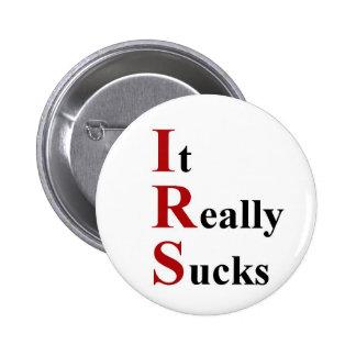 IRS Sucks buttons