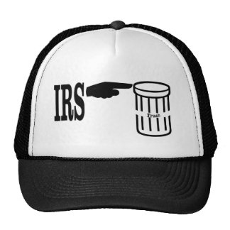 IRS to the Trash Trucker Hats