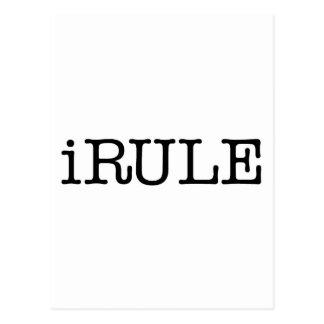 iRule (bastante dijo) Postal