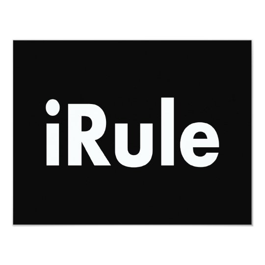 iRule Card