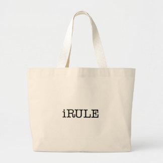iRule (enough said) Large Tote Bag