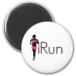 iRun 2 Inch Round Magnet