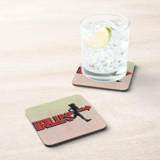 iRUN ARROW SPORTS Beverage Coaster