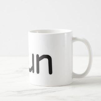 iRun - Black Coffee Mug