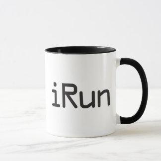iRun - Black Mug