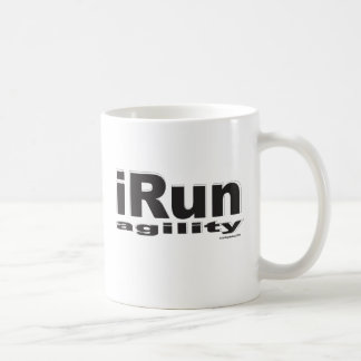 iRun Black Mug