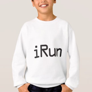 iRun - Black Sweatshirt