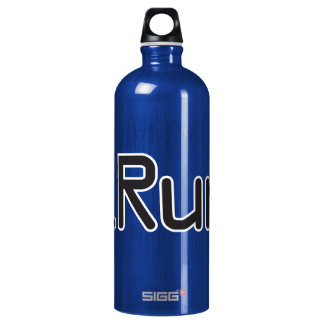 iRun - Black Water Bottle