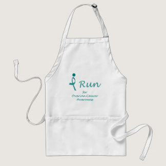 iRun for Ovarian Cancer Awareness Adult Apron
