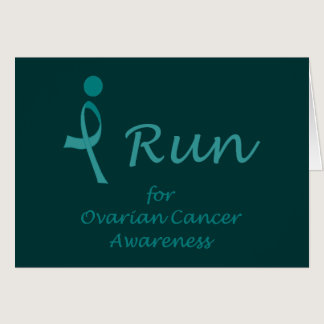 iRun for Ovarian Cancer Awareness Card