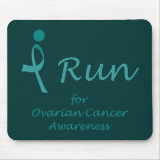 iRun for Ovarian Cancer Awareness Mouse Pad