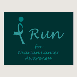 iRun for Ovarian Cancer Awareness Postcard