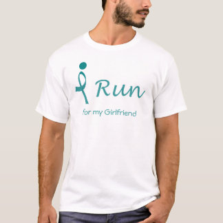 iRun for Ovarian Cancer Awareness T-Shirt