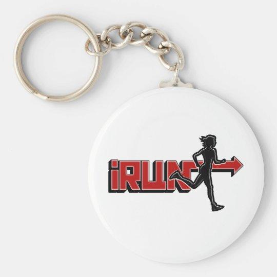 iRUN - I RUN Arrow Silhouette Keychain