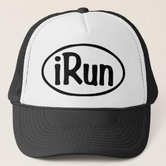 iRun Oval Trucker Hat