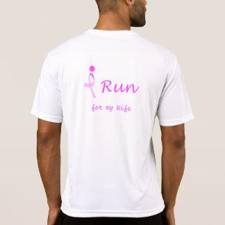 Irún para la conciencia del cáncer de pecho t-shirt