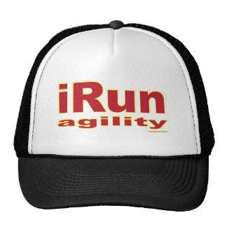 iRun Red Mesh Hats