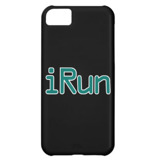 iRun - Teal (Black outline) iPhone 5C Cover