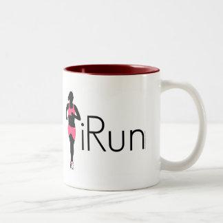 iRun Two-Tone Coffee Mug