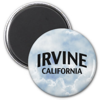 Irvine California 2 Inch Round Magnet
