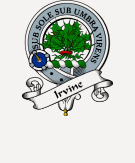 Irvine Clan Badge T Shirt