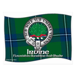 Irvine Clan Postcard