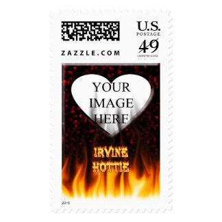 irvine postage stamp