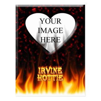 irvine postcard