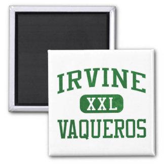 Irvine Vaqueros Athletics 2 Inch Square Magnet