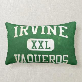 Irvine Vaqueros Athletics Throw Pillows
