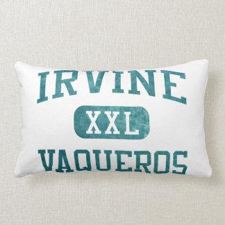 Irvine Vaqueros Athletics Throw Pillow