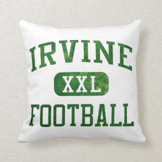 Irvine Vaqueros Football Throw Pillow