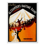 Irving Berlin's Alexanders Rag Time Band Poster