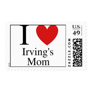 Irving's Mom Postage Stamps