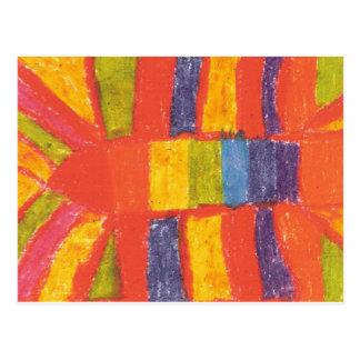 IRW Children's Artwork - #5 Postcards