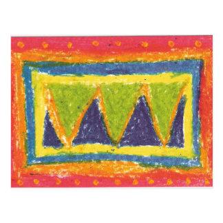 IRW Children's Artwork - Mountain Postcard