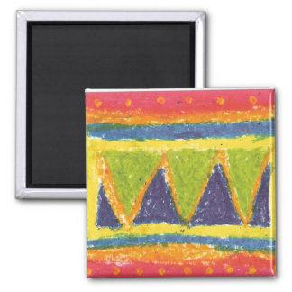 IRW Children's Artwork - Mountains Magnet