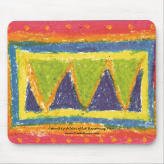 IRW Children's Artwork - Mountains Mouse Pad