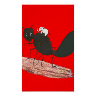 Is an Ant Bigger than an Elephant? Posters