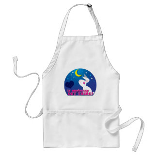 is anybunny out there? adult apron