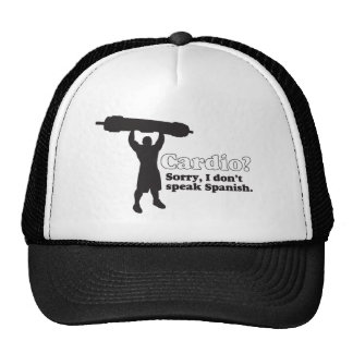 Is Cardio Spanish? Trucker Hat