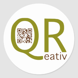 is creatively qreativ with the aileron codes - round sticker
