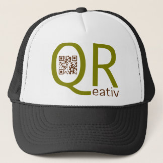 is creatively qreativ with the aileron codes - trucker hat